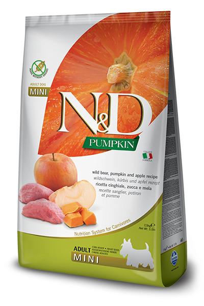 N&D Dog Mini Grain Free Pumpkin