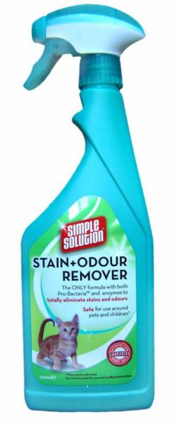 Soluție pentru pete și mirosuri pisica