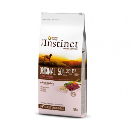 True Instinct Original Dog Med - Maxi Adult 12 kg