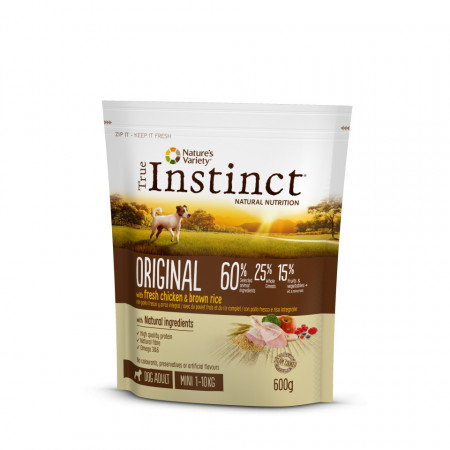 True Instinct Original Dog Mini Adult 600 gr