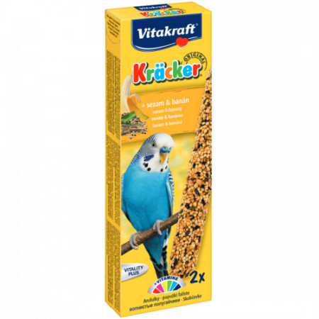 Baton pentru perusi Vitakraft Kracker Banana 60 g