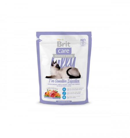 Brit Care Cat Lilly Sensitive Digestion 400 gr