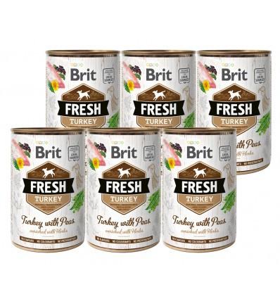 Brit FreshTurkey 6 x 400 gr
