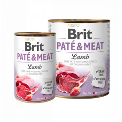 Brit Pate and Meat Lamb 800 gr + 400 gr