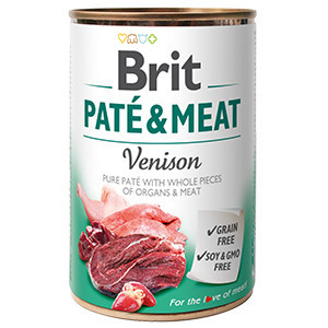 Brit Pate and Meat Venison 400 gr