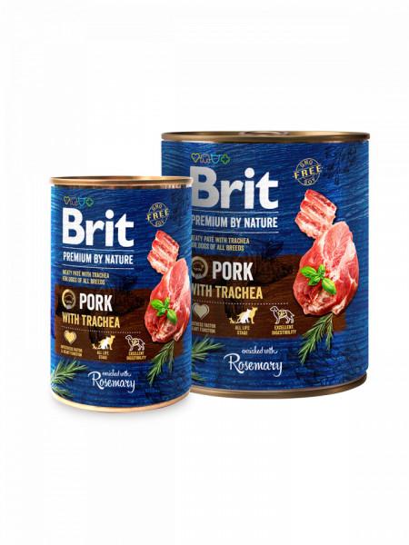 Brit Premium Pork with Trachea 800 g + 400 gr