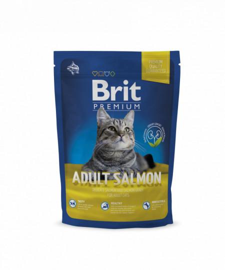 Brit Premium Cat Adult Salmon 300 gr