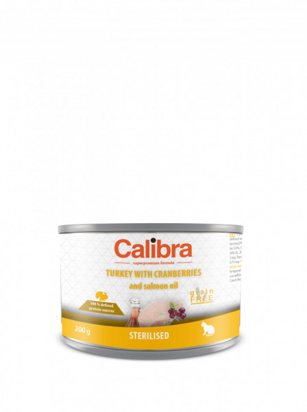 Calibra CatSterilised Turkey