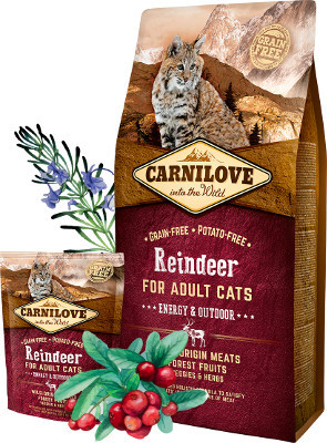 Carnilove Cat Energy & Outdoor