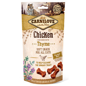 Carnilove Cat Semi Moist Snack Chicken with Thyme