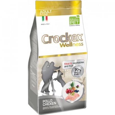 CROCKEX WELLNESS DOG ADULT MINI CHICKEN & RICE 7.5 KG