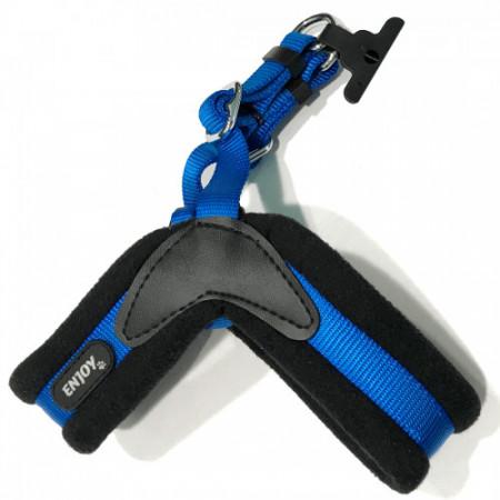 Ham albastru pentru caini Enjoy 34 - 47 cm