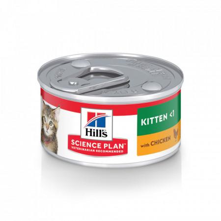 Hill's SP Feline Kitten cu Pui 82 g