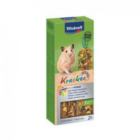 Hrana pentru hamsteri Vitakraft Kracker Hamster Multivit 112 g