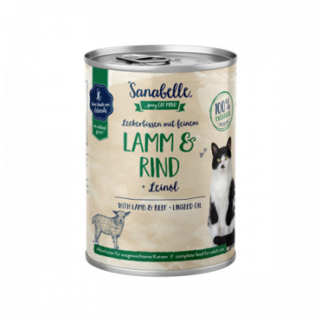 Hrana umeda Sanabelle cu Miel si Vita 400 gr