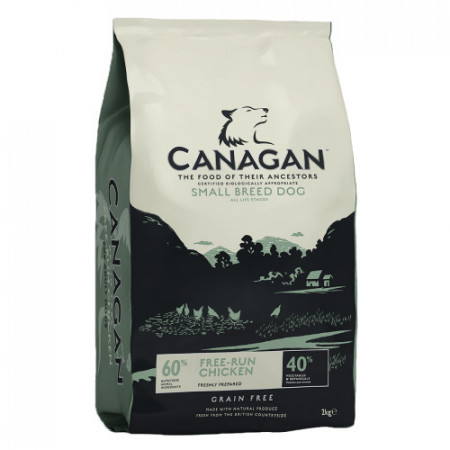 Hrana uscata pentru caini Canagan Grain Free Small Breed cu pui 6 kg