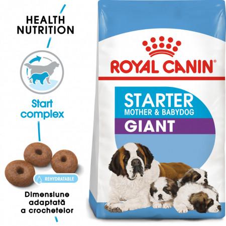 Hrana uscata caini ROYAL CANIN Giant Starter Mother & Babydog