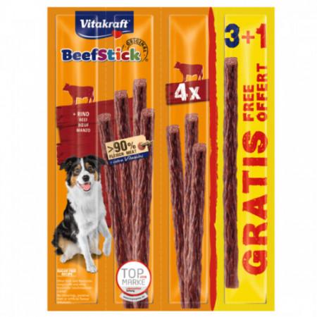 Recompense pentru caini Vitakraft Beef Stick Vita 48g 3+1 PROMO