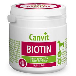 Supliment Nutritiv Canvit Dog Biotin 100 gr