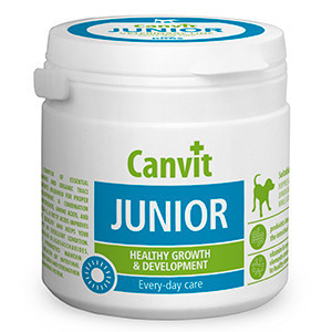 Supliment Nutritiv Canvit Dog Junior 100 gr