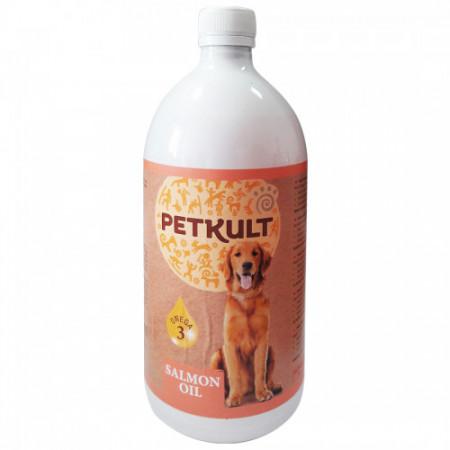 Ulei de somon pentru caini Petkult 1 L