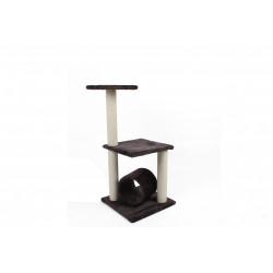 Ansamblu de joaca din plus si iuta pentru pisici Enjoy 40x40x86 cm