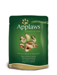 Applaws CAT hrană umedă cu piept de pui și sparanghel în sos 70 gr