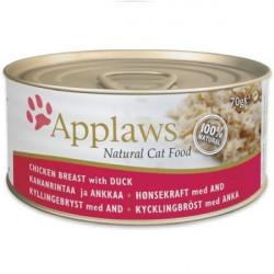 Applaws CAT piept de pui și rață 70 gr