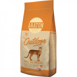 ARATON Cat Adult Chicken & Turkey / OUTDOOR 15 KG