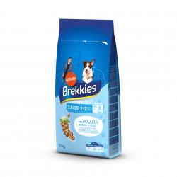 Brekkies Dog Junior cu pui și orez