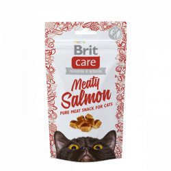 Brit Care Cat Snack Meaty Salmon 50 gr