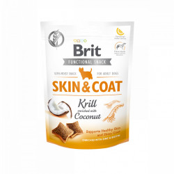 Brit Care Functional Snack skin and coat cu krill 150 gr