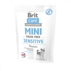 Brit Care Mini Grain-Free Sensitive Vânat 400 gr