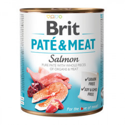 Brit Pate and Meat Somon 800 gr