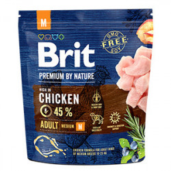 Brit Premium by Nature Adult M cu pui 1 Kg