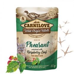 Carnilove Cat Fazan cu Frunze de Zmeura 85 gr