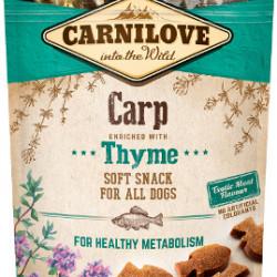 Carnilove Semi-Moist Snack cu crap și cimbru 200 g