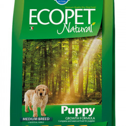 Ecopet Natural Puppy Medium 12 kg