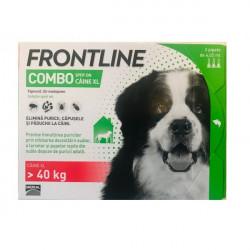 Frontline Combo XL (peste 40 kg) - 3 pipete deparazitare
