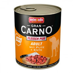 GranCarno Original Adult Curcan și Rata 800 gr