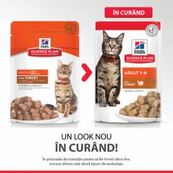 Hill's SP Feline Adult Curcan 85 g (pliculeț)