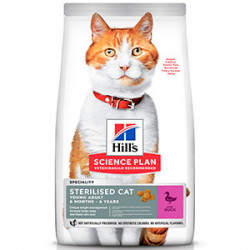 Hill's SP Feline Young Adult Sterilised Rata 3 kg
