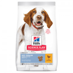 HILL'S SP Canine Adult Medium Breed NO GRAIN cu pui