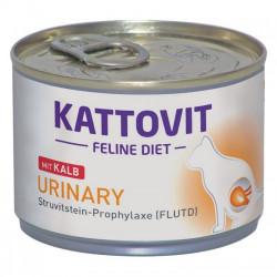 Hrana umeda pentru pisici Kattovit Urinary cu vitel 175 g