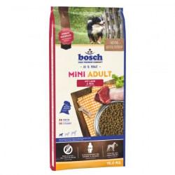 Hrana uscata caini Bosch Mini Adult miel si orez