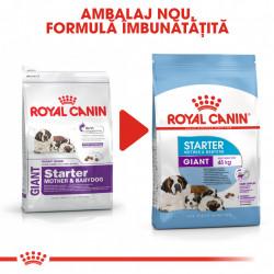 Hrana uscata caini ROYAL CANIN Giant Starter Mother & Babydog 15 kg ambalaj nou