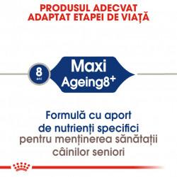 Hrana uscata caini ROYAL CANIN Maxi Ageing 8+ produs adaptat etapei de viata