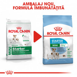 Hrana uscata caini ROYAL CANIN Mini Starter Mother & Babydog Ambalaj Nou