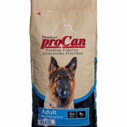 Hrana uscata pentru caini, Adult, Procan Maintenance, 20 Kg