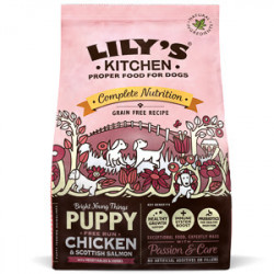 Lily's Kitchen Dog Complete Nutrition Puppy Pui și Somon 1 kg